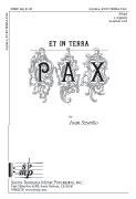 Et in terra pax : SSAA : Joan Szymko : Joan Szymko : Sheet Music : SBMP493 : 964807004930