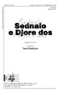 Sednalo e Djore dos : SATB : Sara Shakliyan : Sheet Music : SBMP514