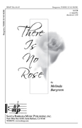 There Is No Rose : SATB : Melinda Bargreen : Melinda Bargreen :  1 CD : SBMP524 : 964807005241