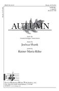 Autumn : SATB divisi : Joshua Shank : Joshua Shank : SBMP560 : 964807005609