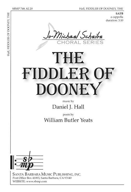The Fiddler of Dooney : SATB : B. Wayne Bisbee  : Sheet Music : SBMP748 : 964807007481
