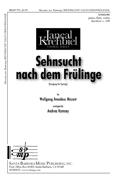 Sehnsucht nach dem Frulinge : Unison : Wolfgang Amadeus Mozart : Wolfgang Amadeus Mozart : Sheet Music : SBMP751 : 964807007511