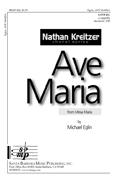 Ave Maria : SATB divisi : Michael Eglin : Michael Eglin : Sheet Music : SBMP828 : 964807008280