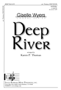 Deep River : SATB divisi : Karen P Thomas : Karen P Thomas : Sheet Music : SBMP924 : 964807009249
