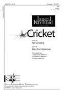 Cricket : SA : Neil Ginsberg : Neil Ginsberg : Sheet Music : SBMP933 : 964807009331